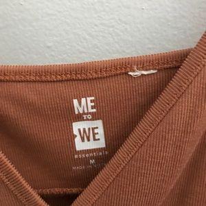 Me to We Tops - Burnt Orange Camisole